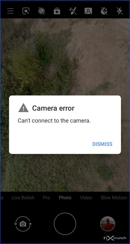 Can't Connect To Camera