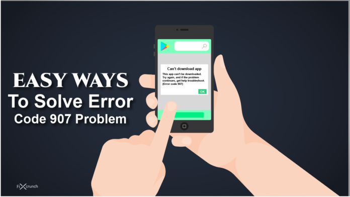 fix error code 907