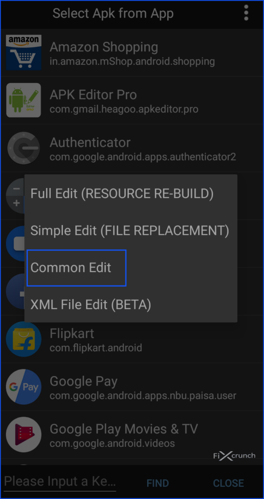 APK Editor pro Common Edit