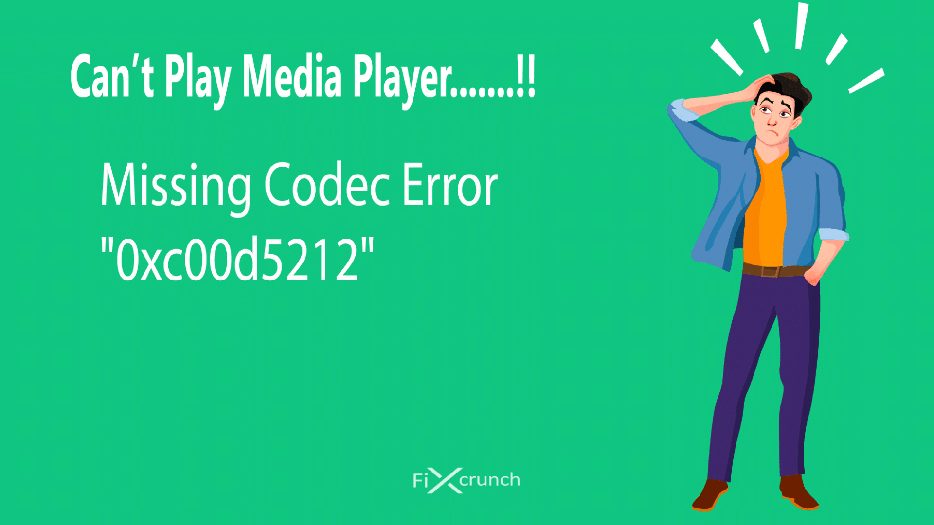 Fix 0xc00d5212 Error