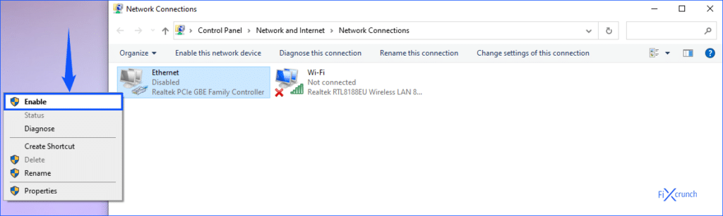 Ethernet Enabled