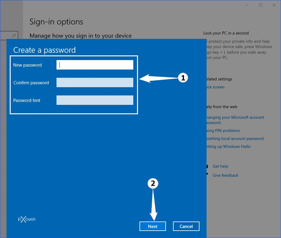 Password Confirmation