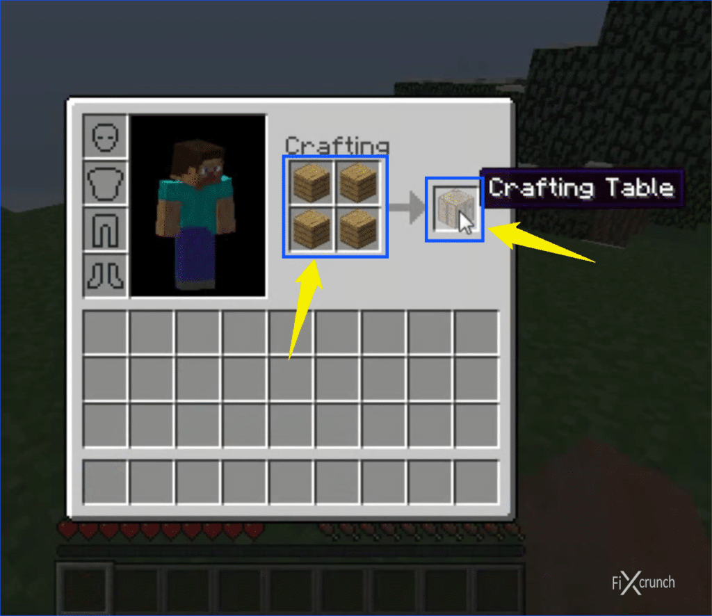 Making Crafting Table