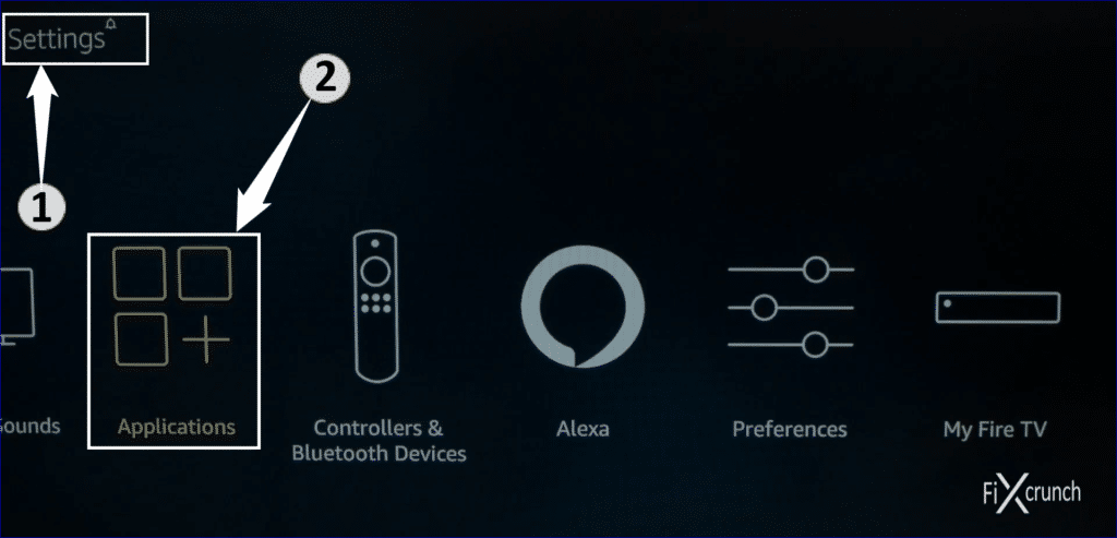 Fire TV Applications