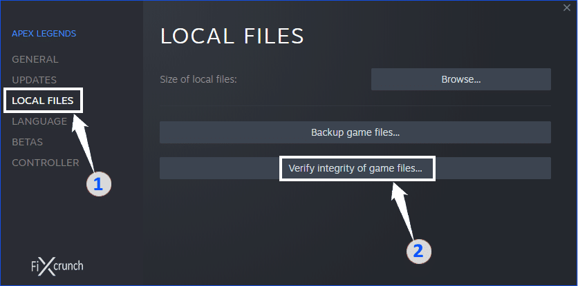 verify Integrity Of Game Files